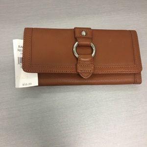Banana republic leather wallet